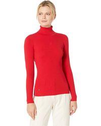 Lauren by Ralph Lauren - Turtleneck Sweater (pearl Grey Heather) Women's Sweater - Lyst