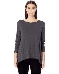 Eileen Fisher - Organic Cotton Knit Top - Lyst