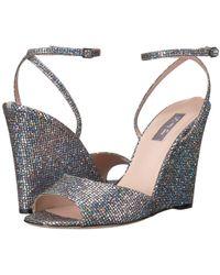 SJP by Sarah Jessica Parker - Boca (silver Scintillate) Women's Shoes - Lyst