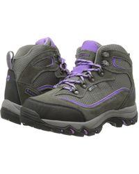 Hi-Tec - Skamania Waterproof (grey/viola) Women's Boots - Lyst