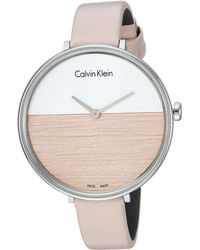 CALVIN KLEIN 205W39NYC - Rise Watch - K7a231xh - Lyst