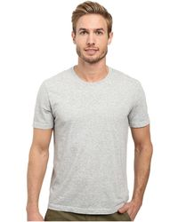 Agave - Agave Supima Crew Neck Short Sleeve Tee (black) Men's T Shirt - Lyst