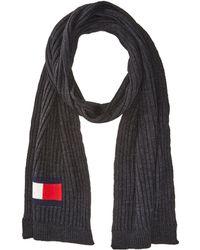 Tommy Hilfiger | Knit Logo Scarf | Lyst