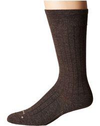 Feetures! - Wide Rib Ultra Light Crew Sock - Lyst