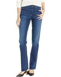 NYDJ - Marilyn Release Pocket Hem In Muir (muir) Women's Jeans - Lyst