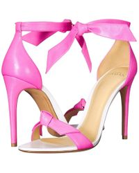 f7b2bdceeb1b Alexandre Birman - 100 Lovely Clarita Leather (pink Fluo white Capreto Fluo  Leather