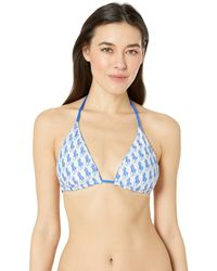 5a24d81d6693c Polo Ralph Lauren - Logo Icon Tall Reversible Triangle (pool) Women s  Swimwear - Lyst