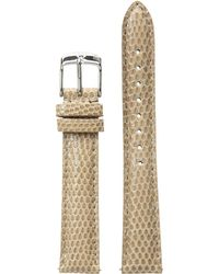 Michele - 16mm Cashmere Lizard Watch Strap - Lyst
