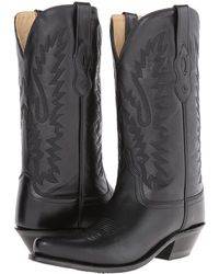 Old West Boots - Lf1510 (black) Cowboy Boots - Lyst