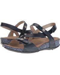 Romika - Fidschi 54 (platin Metallic) Women's Sling Back Shoes - Lyst