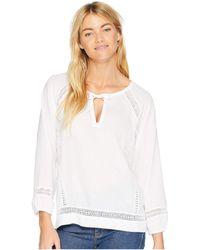 Prana - Tacana Top (black) Women's Long Sleeve Pullover - Lyst