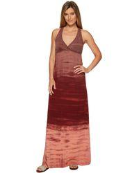 Hard Tail - Twisty Back Maxi Dress (black) Women's Clothing - Lyst