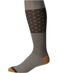 Etro - Herringbone Socks (blue) Men's Crew Cut Socks Shoes - Lyst