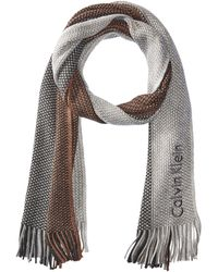 CALVIN KLEIN 205W39NYC - Ombre Stripe Scarf - Lyst