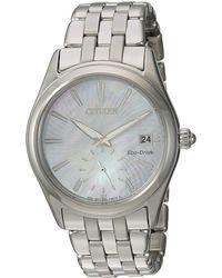 Citizen - Ev1030-57d Eco-drive (silver-tone) Watches - Lyst