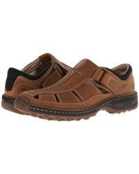 a2c59d5efada Timberland - Altamont Closed Toe closed Back Fisherman (black Smooth) Men s  Shoes -