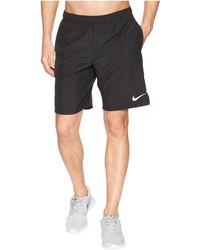 Nike - Challenger 9 Running Short (obsidian/obsidian) Men's Shorts - Lyst