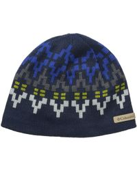 Columbia - Alpine Action Beanie (light Bisque Trees) Beanies - Lyst 0f3b40de6933