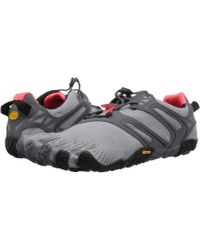 Vibram Fivefingers - V-trail (grey/black/orange) Women's Shoes - Lyst
