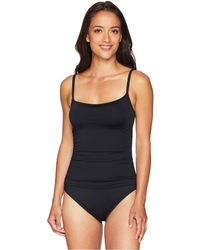 4e429693fccbc La Blanca - Island Goddess Lingerie Mio (midnight) Women s Swimsuits One  Piece - Lyst