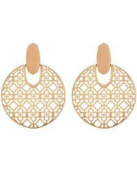 e747248c5 Kendra Scott - Didi Earrings (rose Gold Metal) Earring - Lyst