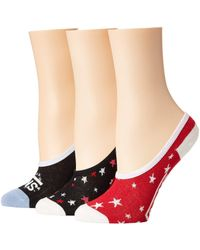 12ec79b03fa Vans - Lucky Stars Canoodles 3-pack (multi) Women s No Show Socks Shoes