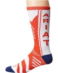 Ariat - Performance Mid Calf Sock (red) Men's Crew Cut Socks Shoes - Lyst