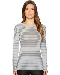 Vince - Double Pinstripe Long Sleeve Shirttail - Lyst