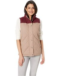 Cinch - Quilted Polyfill Vest (brown) Women's Vest - Lyst