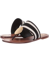 919a08b71c5b Tory Burch - Patos Disk Sandal (perfect Ivory gold) Women s Sandals - Lyst