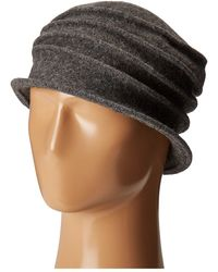 San Diego Hat Company   Cth8089 Soft Knit Cloche With Accordion Detail   Lyst
