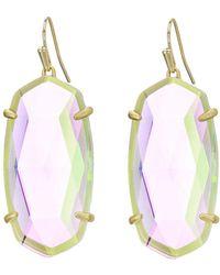 Kendra Scott - Esme Earrings (gold/ivory Mother-of-pearl) Earring - Lyst