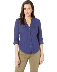 Tommy Bahama - Arden Long Sleeve Camp Shirt (white) Women's Clothing - Lyst