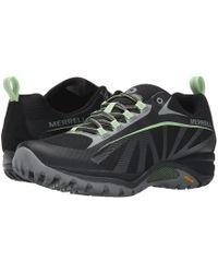 Merrell - Siren Edge Waterproof (black/paradise) Women's Lace Up Casual Shoes - Lyst