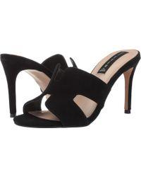 Steven by Steve Madden - Nylah (black Suede) Women's Dress Sandals - Lyst
