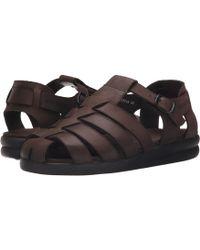6bca0f9d067 Mephisto - Sam (dark Brown Oldbrush) Men s Sandals - Lyst