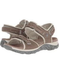 Allrounder By Mephisto - Lagoona (lavagna (dark Grey) Nubuck/d Mesh) Women's Sandals - Lyst