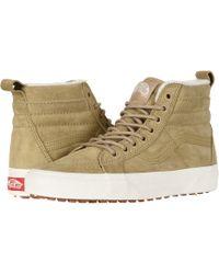 6ea32b28e0 Lyst - Vans Sk8-hi Mte ((mte) Suede chocolate Torte) Skate Shoes for Men