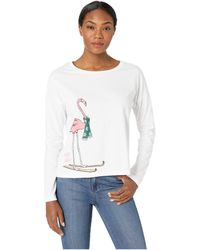 Life Is Good. - Snuggle Up Relaxed Long Sleeve (cloud White) Women's Pajama - Lyst