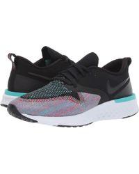 wholesale dealer bf745 047d5 Nike - Odyssey React Flyknit 2 (black black hyper Jade ember Glow