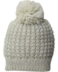 San Diego Hat Company - Knh3604 Metallic Yarn Beanie With Pom (black) Beanies - Lyst