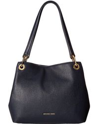 MICHAEL Michael Kors - Raven Large Shoulder Tote (mushroom) Tote Handbags - Lyst