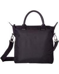 Want Les Essentiels De La Vie - Mini O`hare Tote (black Nylon/jet Black) Tote Handbags - Lyst