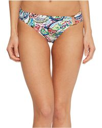 Lauren by Ralph Lauren | Cabana Paisley Ring Front Hipster Bottom | Lyst