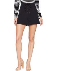 Bishop + Young - Bridget Lace Up Shorts - Lyst