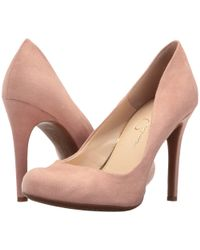 Jessica Simpson - Calie (black) High Heels - Lyst