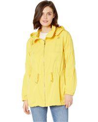 Lauren by Ralph Lauren - Water-repellent Zip Jacket (regatta Yellow) Women's Coat - Lyst
