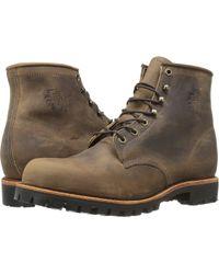 Chippewa - Apache Lace Up (chocolate) Men's Boots - Lyst