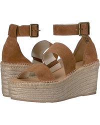 a6dd0f92aa6e Soludos - Palma Platform Sandal (walnut) Women s Shoes - Lyst