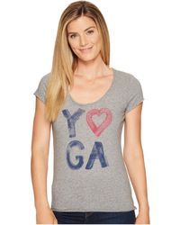Life Is Good. - Yoga Heart Smooth Tee - Lyst